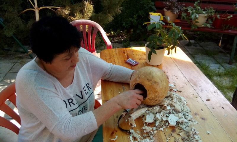 Подготовка тыквы к работе